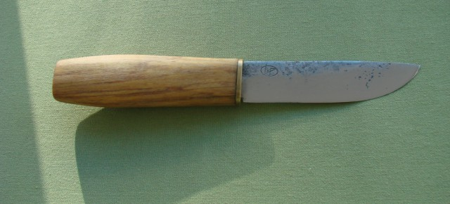 First rattang forged knife