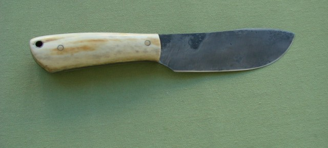 First fulltang forged knife