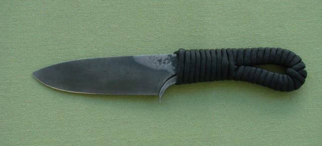 Modern viking knife( first blacksmith knife)