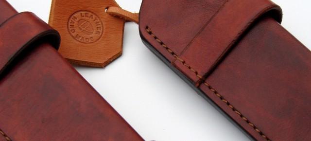 Horizontal carry sheaths for Aberg knife clones